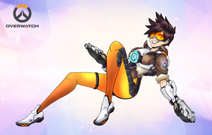 Tracer - Overwatch by SolidifyArt