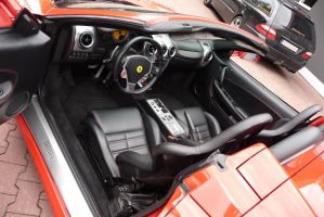 F430 Spider Interior by theTobs