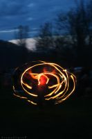 Fire Belly Dancing by BengalTiger4