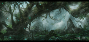 Elementium_Forest_Concept_02 by Narandel