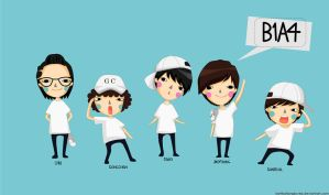 B1A4 by kartikatjanglovejs
