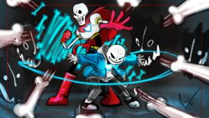 Undertale Skeletonattacks by jameson9101322