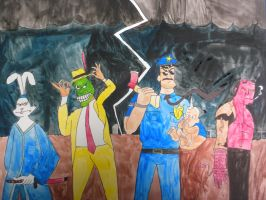 Dark Horse CrimeFighters by BARproductions