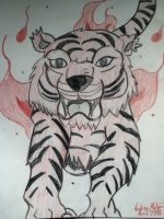 Fire Tiger by Nicole0498