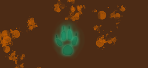 my paw print by zaltenia