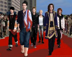The Sims 2 KAT-TUN by Dreamhuntress-sims