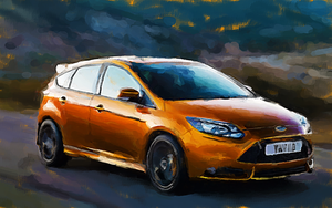 Ford Focus by nicollearl