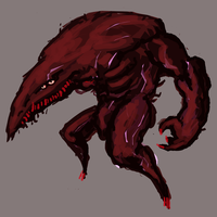 The Red Beast concept by Nuke-Em-Nic