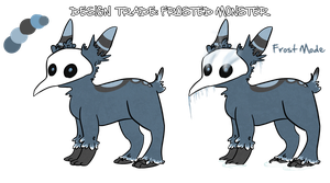 Design Trade: Frosted-Monster by chubird