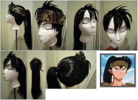 Koga Wig from Inu Yasha by taiyowigs