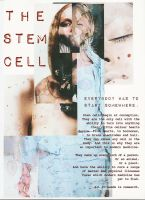 Stem Cells Zine pg. 1 by Vampyeress