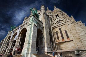 Sacre Coeur - Paris by MD-Arts