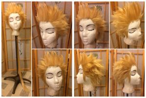 Onion Knight wig from Final Fantasy: Dissidia by taiyowigs