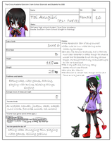 Ao no Exorcist OC sheet: Tai by ameiliaketchum