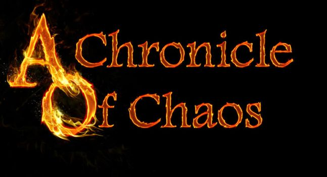 A Chronicle of Chaos Title WIP by Ameryn