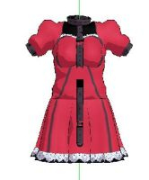 MMD- Belted Dress- DL by MMDFakewings18
