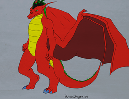 American Dragon by R3B3LDR4G0N