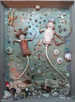 Assemblage: Water Babies by bugatha1