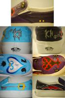 Kingdom Hearts Shoes by Firestar0785