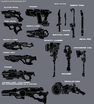 Potemkin: Weapons - First Pass by ionen