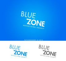 Logo for BlueZone by psychosherry