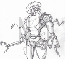 March of Robots #4: Medical and Infiltration Unit by ConstantM0tion
