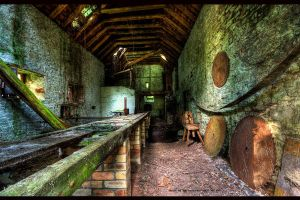 Inside The Old Saw Mill by GaryTaffinder