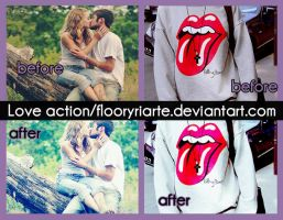 Love action - by Floor by FloorYriarte