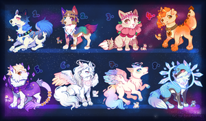 Galaxy Gems | Egg Auction | CLOSED! by cieIIa