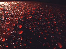 Water Droplets by PepperOwl91
