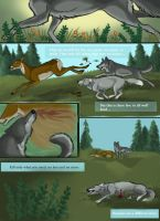 Page One: Echo Lake Wolves by VeronicaRosejones