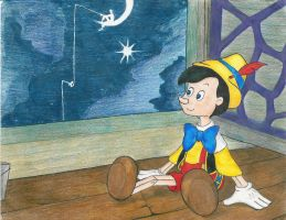Pinocchio.... by Neamhchlaonta