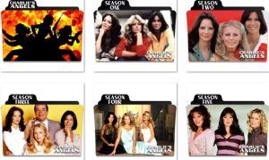 Charlie's Angels Folder Icons by nellanel