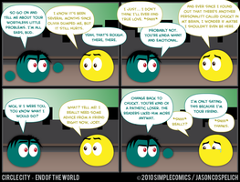 CC414 - End of the World 14 by simpleCOMICS