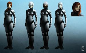 Space Girl Concept by EdBourg