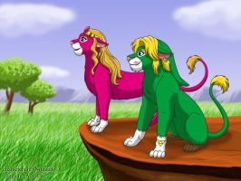 The Legend Of Lion by Goldy--Gry