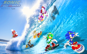 Sonic Free Riders by Axelrose-kpo