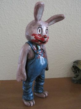 Robbie the Rabbit - Side by LindseyErin