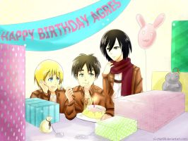 snk birthday!!!! :D by javinch
