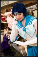 Sailor Mercury -Listen to Luna by MandyNeko