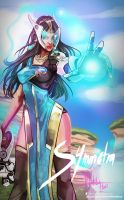 Overwatch: Symmetra by Hassly