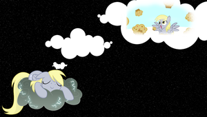 Derpy Sleeping Wallpaper by Hambone0326