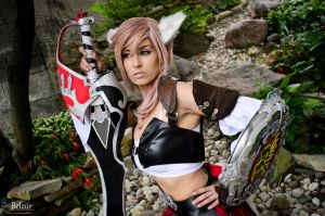 Lightning Returns : Miqo'te by Queen-Azshara
