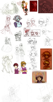 Dumping Sketches -part insert number here- by florencegilbert