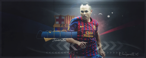 Andres Iniesta Sign by JandoDC