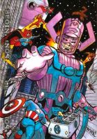 Marvel Beginnings Galactus AP by markiedc