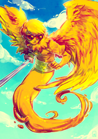 Davesprite FLYING HIGH WOOO by Jotaku