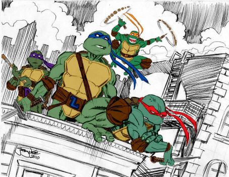 Turtle Power by Thejeremydale by Kenkira