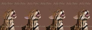 Ocelot WIP Progression by Chaotica-I