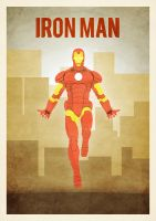 A3 ironman poster by zpecter